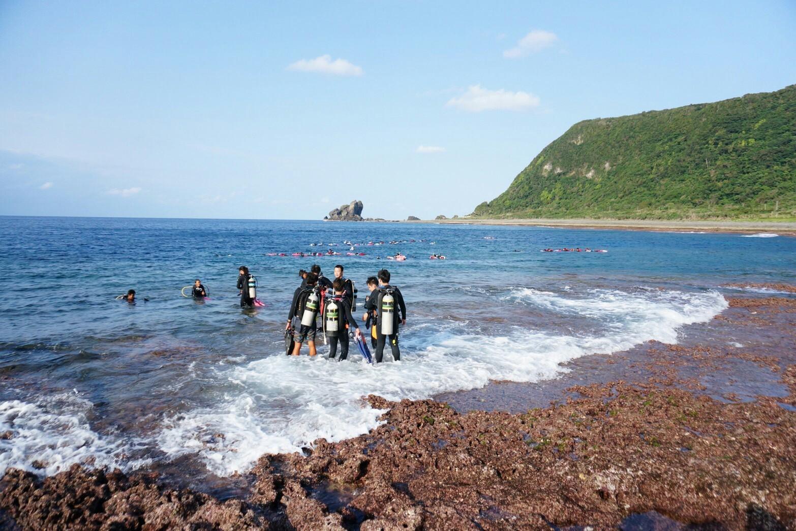 綠島兩日深度行(體驗潛水)每人$4800起
